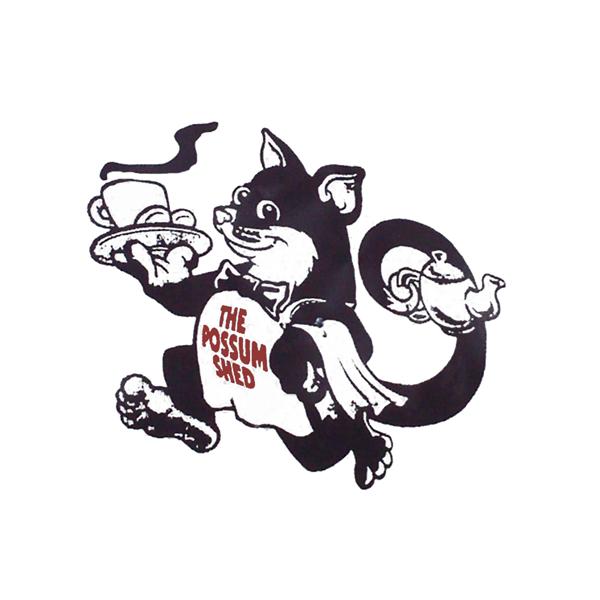 the possum shed logo